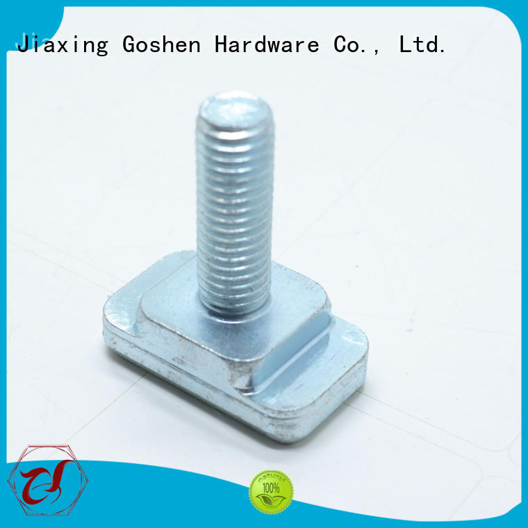 Goshen OEM custom bolts and fasteners manufacturer for engineering
