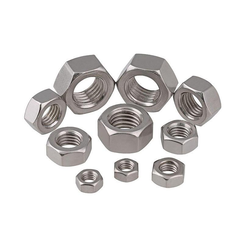 Stainless steel hexagon nut DIN934