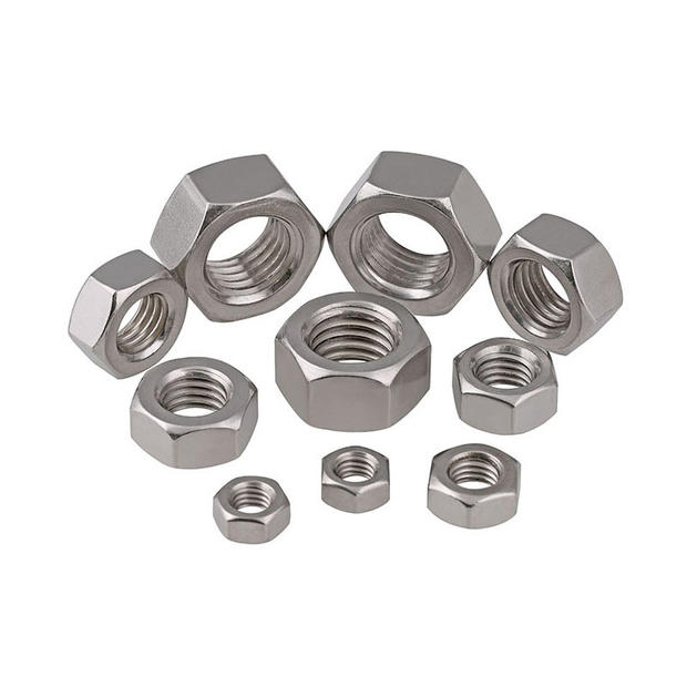 Stainless steel hexagon nut DIN934