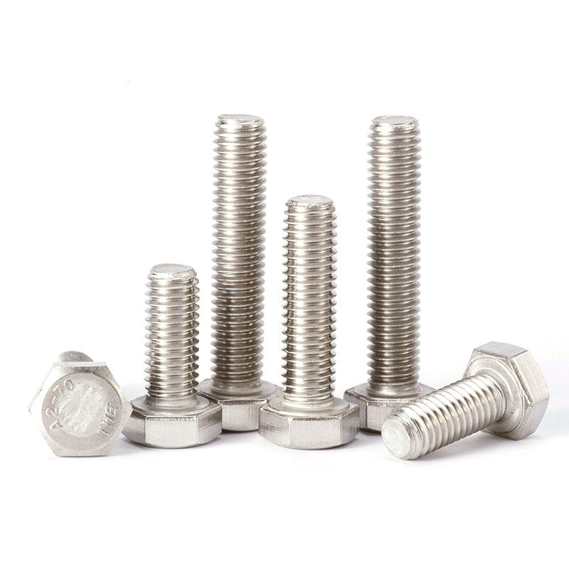 Stainless steel Full thread hexagon bolt