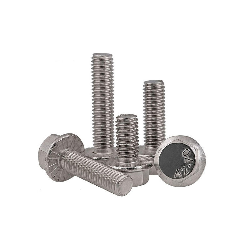 DIN6921 hexagon flange head bolt
