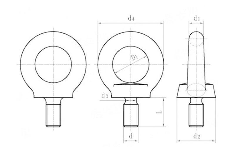 Goshen eye foundation bolt free design for bridge