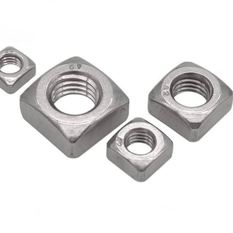 Stainless steel M8 DIN557 square nut