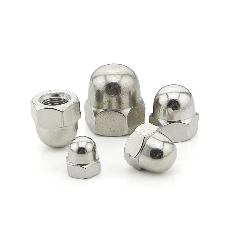 Stainless steel DIN 1587 Hex cap nut