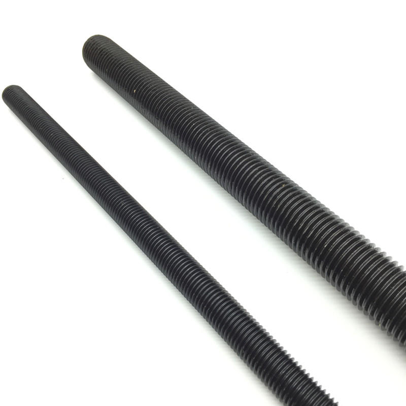Carbon steel Gr8.8 Black Threaded rod