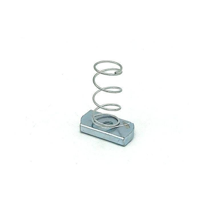 Carbon steel GR4 Galvanizing spring nut