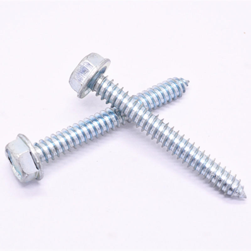 C1022A Galvanized Flange head self tapping screw