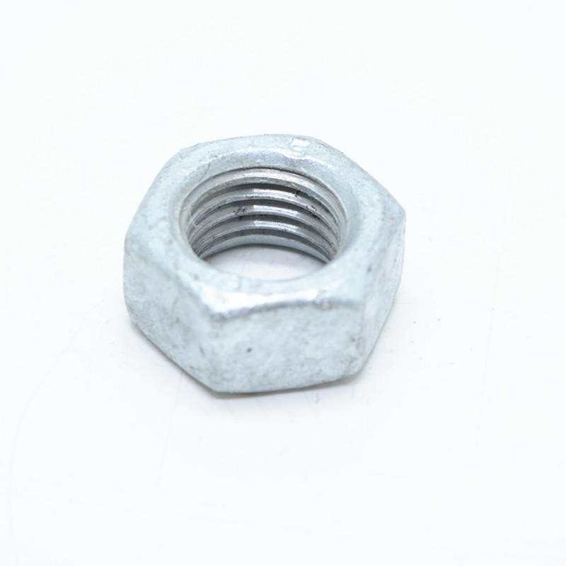 Hot dip galvanized 2H heavy hexagon nut
