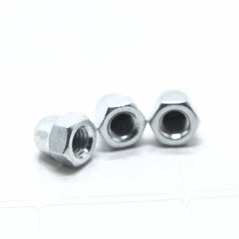 Carbon steel DIN1587 hex domed cap nuts acron nut