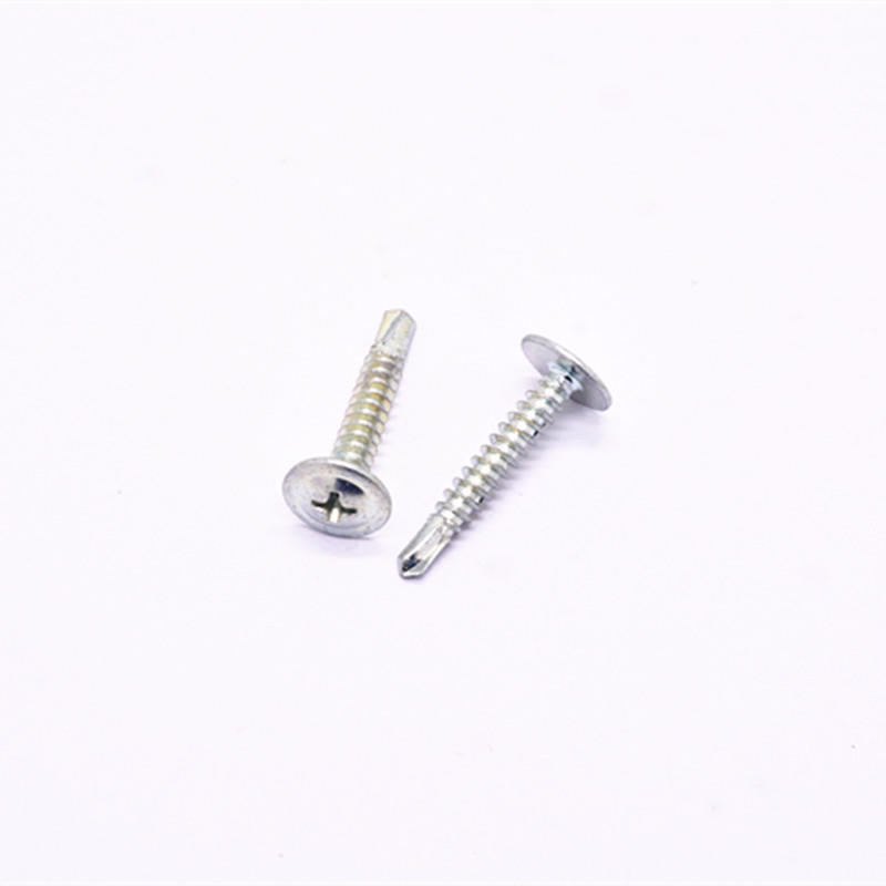 Stainless steel 304 Cross drive large pan head self-drilling screw
