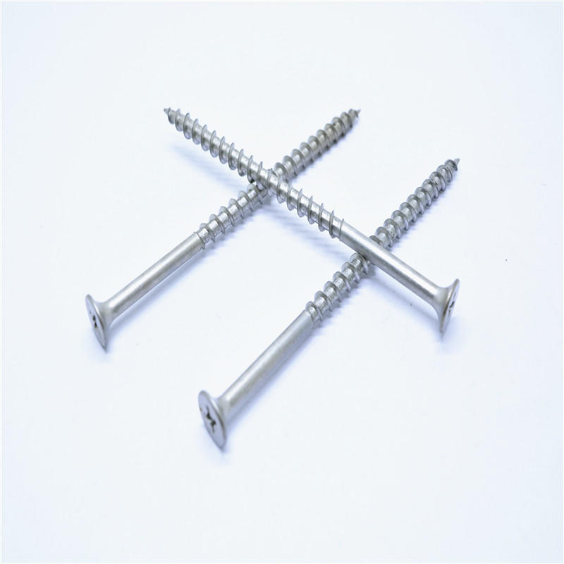 Stainless steel 304 horn Chipboard screw