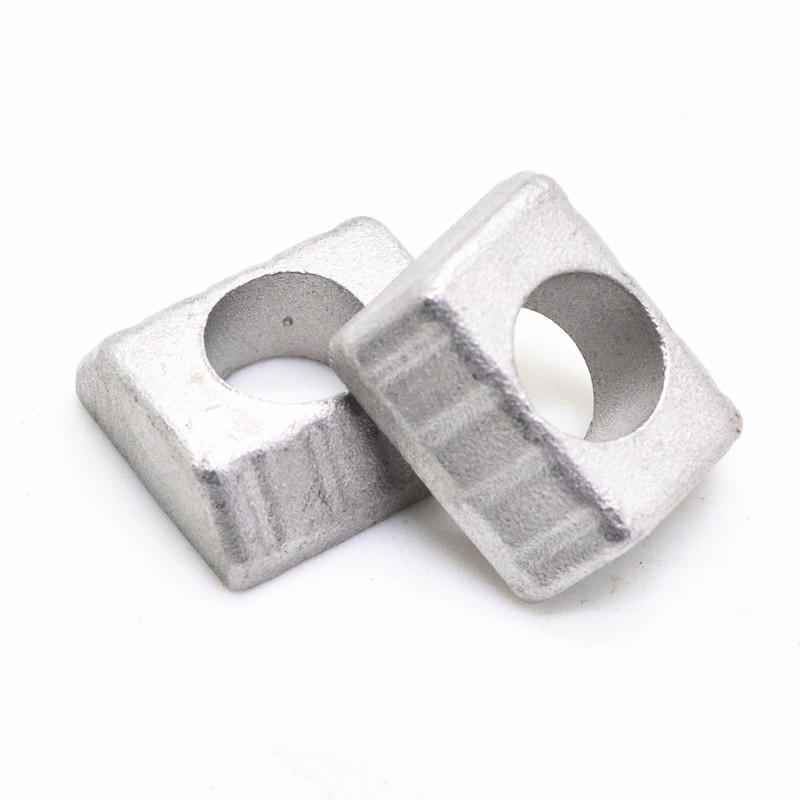 Custom Stainless steel Square pipe strap casting