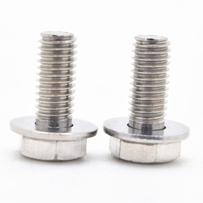 Stainless steel Phillips Hex Head SEMS screw