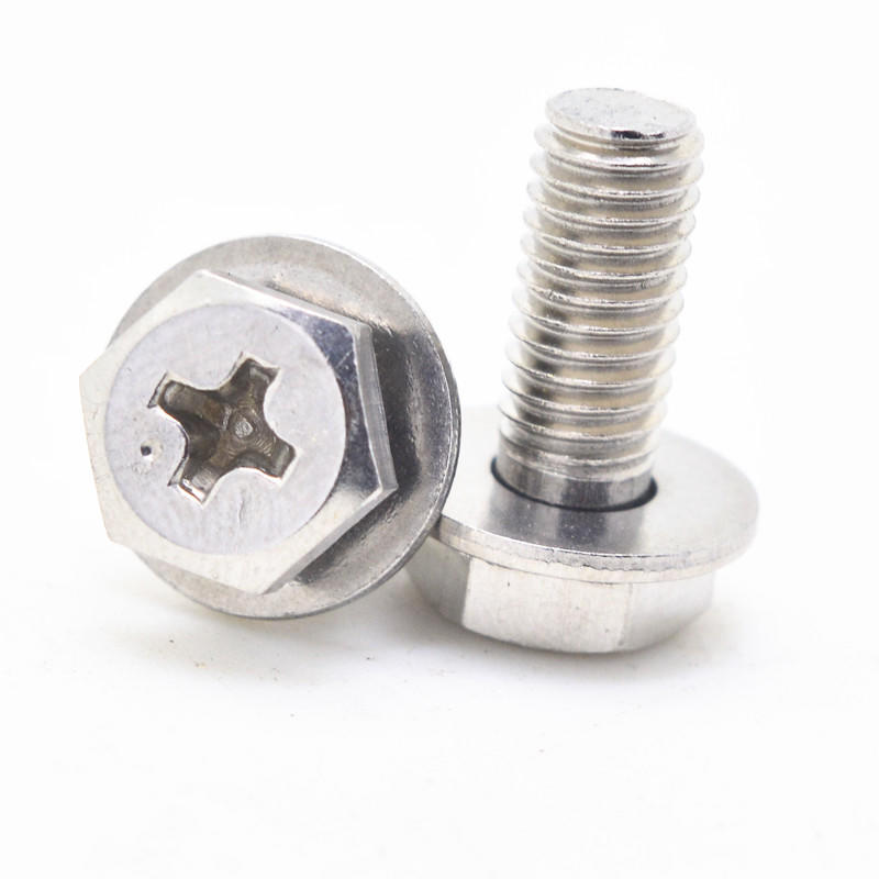 screw with washer