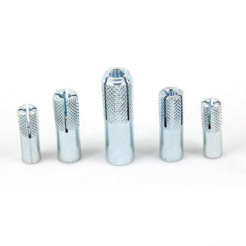 Carbon steel Blue zinc plated M8 M10 M12 Drop in anchor