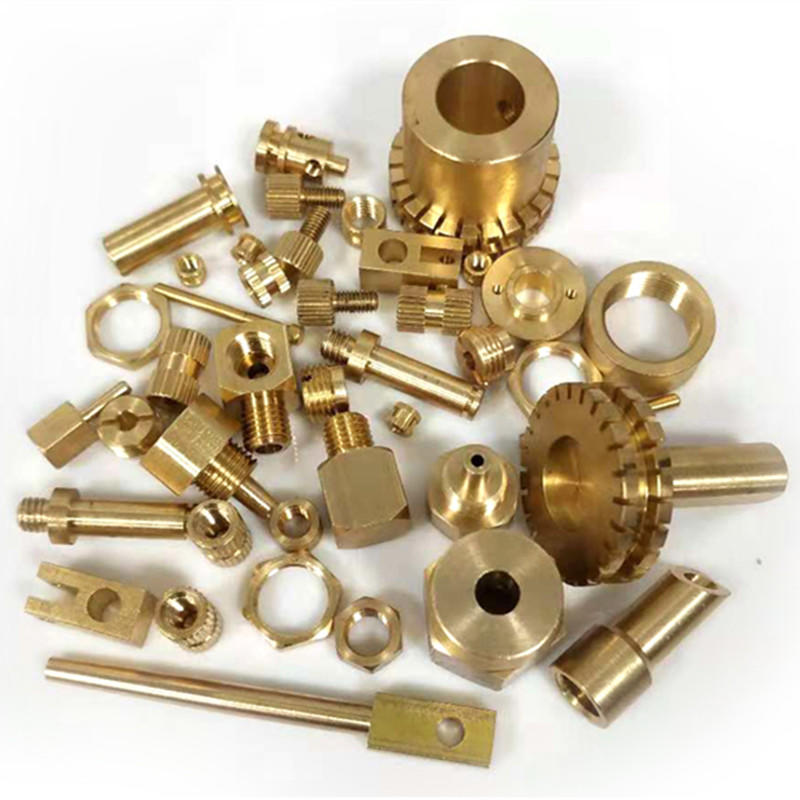 CNC Turning Brass Mechanical Parts