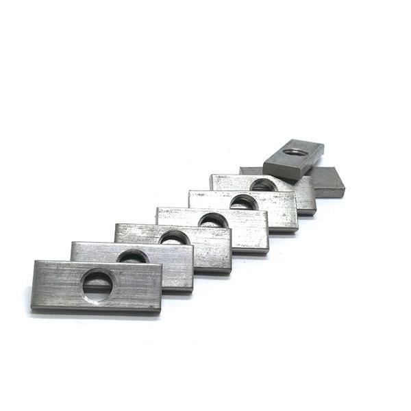 Stainless steel 304 316 Rectangular nut