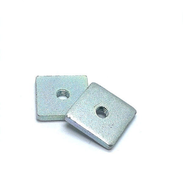 Carbon steel Bule zinc plated Custom square nut