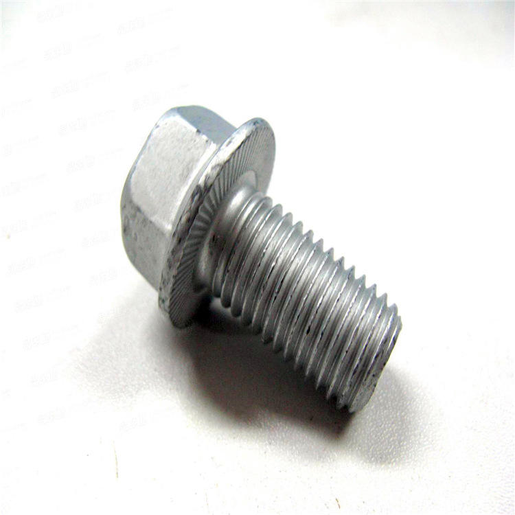 Hot dip galvanized DIN6921 Hex flange bolts