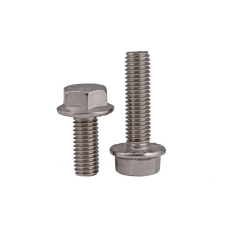 Duplex stainless steel 2205 Hex flange head bolt