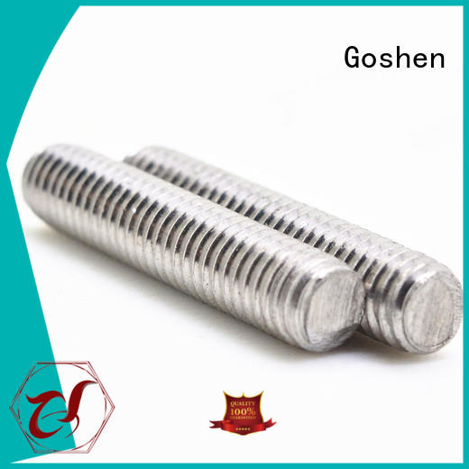 durable threaded rod design for construction
