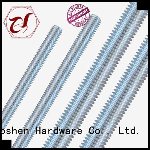 Goshen 8mm threaded rod types for bridge