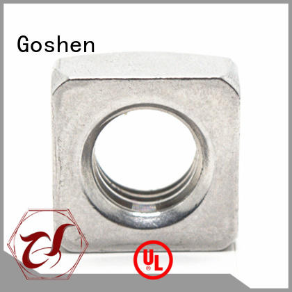 Goshen fashion metric square nuts factory price for engineering
