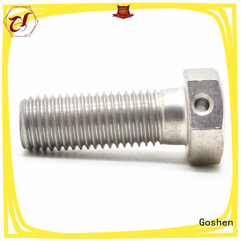 Goshen high quality custom bolt manufacturers dropshipping for bridge