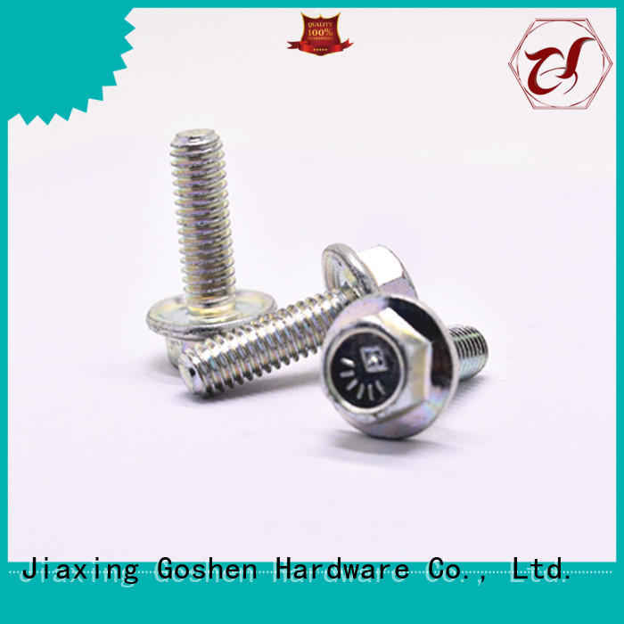 Goshen stainless steel grade 8 flange bolts overseas market for construction