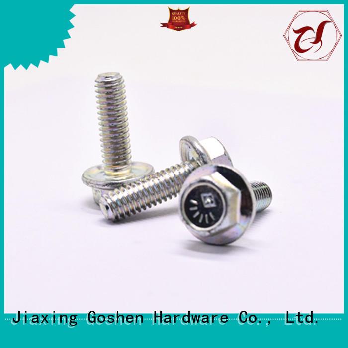 Goshen stainless steel grade 8 flange bolts overseas market for construction
