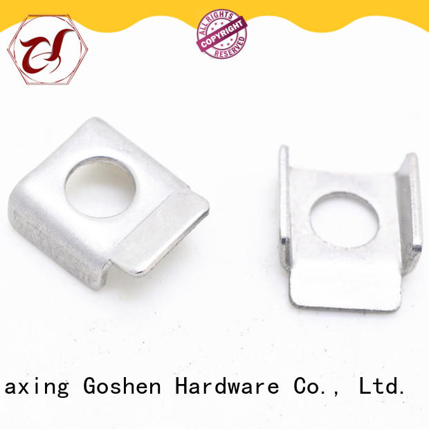 Goshen brushed stamping parts factory price for construction