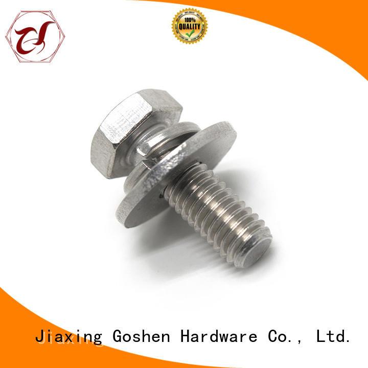 Goshen combination bolt marketing for bridge