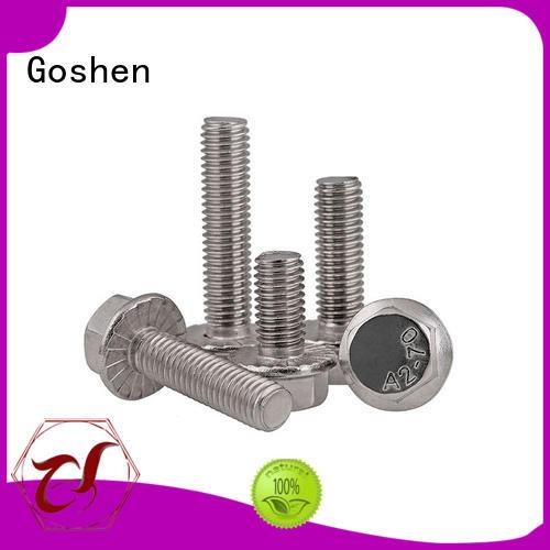 Goshen ansi flange bolts types for engineering