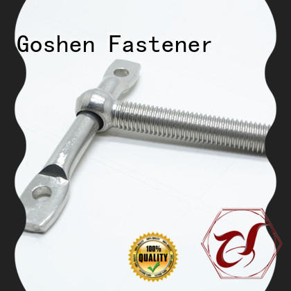 Goshen fashion custom bolts and fasteners supplier for engineering