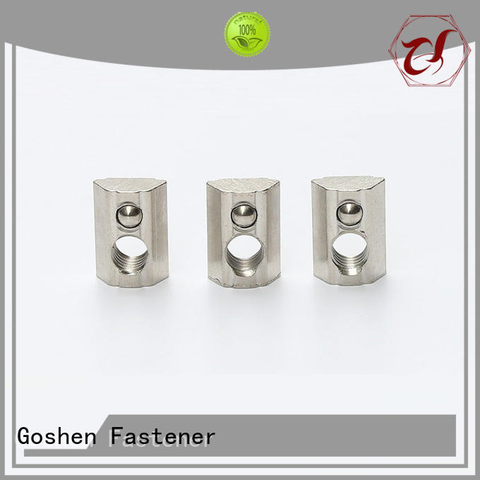 Goshen safe square head nuts for wholesale for construction
