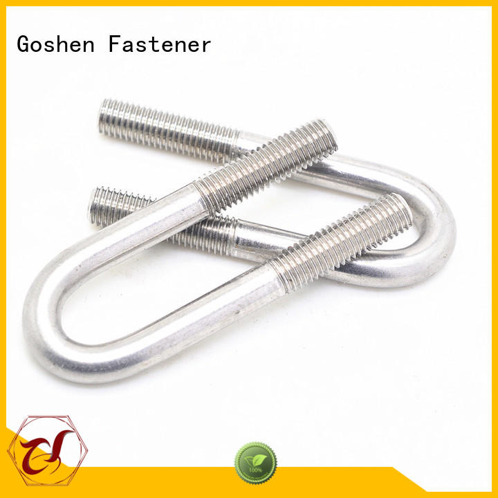 Goshen stable u bolt ss316 dropshipping for construction