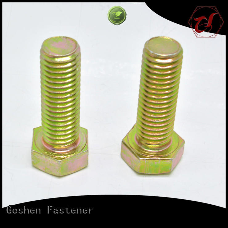 stable heavy hex cap screw factory price for engineering