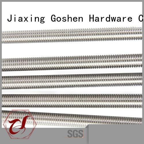 Goshen safe m10 threaded rod for wholesale for bridge