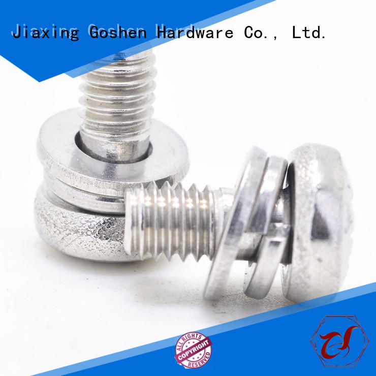 Goshen high-quality small machine screws types for engineering