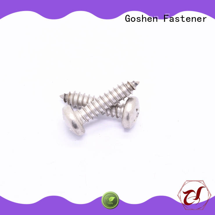 Goshen stainless steel tek screws dropshipping for construction