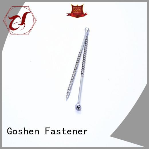 Goshen stable chipboard flooring screws for manufacturer for construction