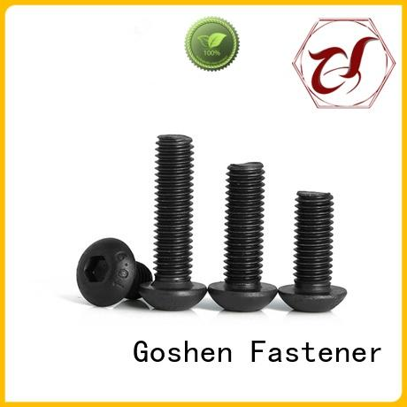 Goshen metric machine screws factory price for engineering