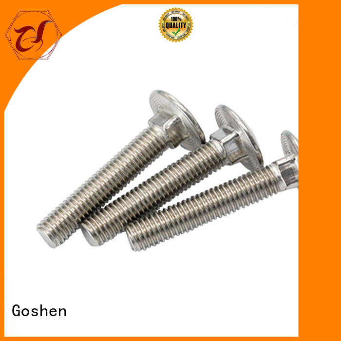 Goshen 14 inch carriage bolts types for construction