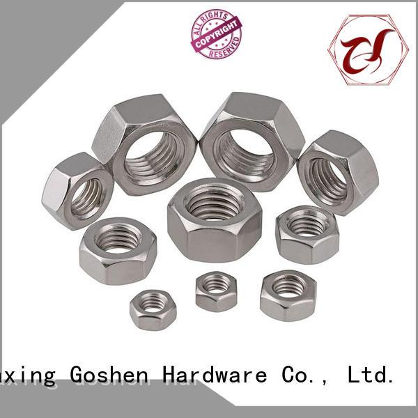 Goshen hex lug nut price for engineering