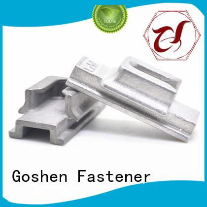 Goshen brushed screw eye bolt series for bridge