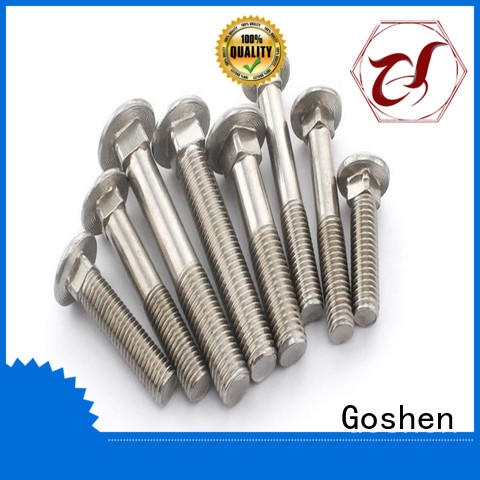 Goshen changeable chrome carriage bolts dropshipping for construction