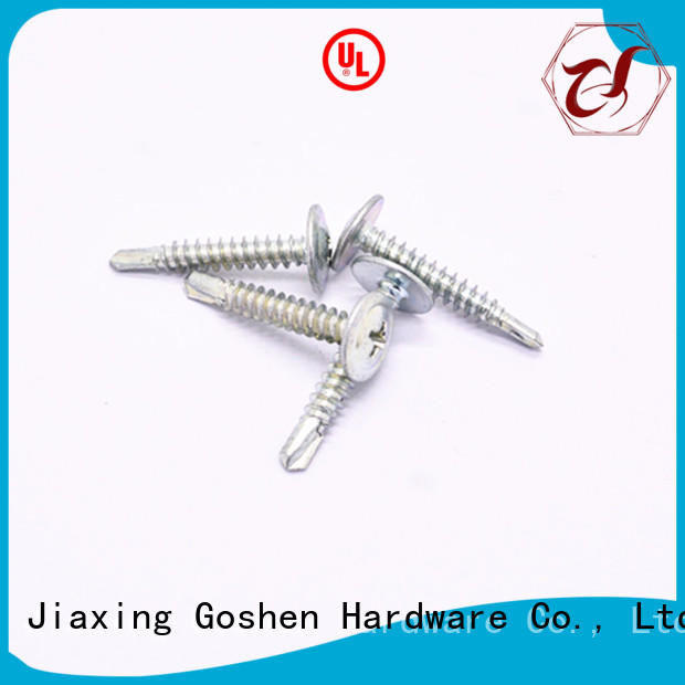 Goshen self drilling screw for wholesale for engineering