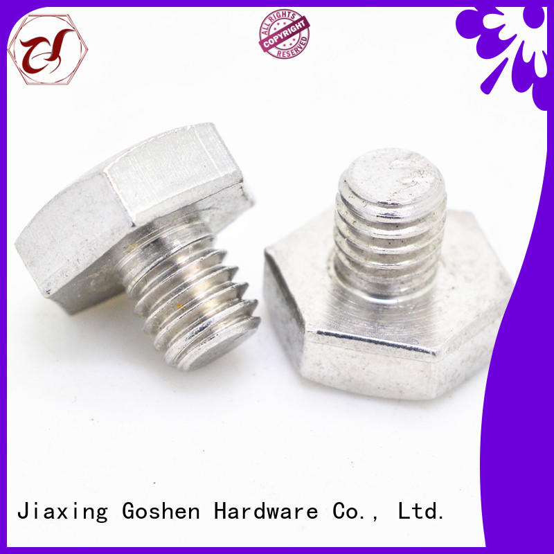 Goshen hex bolt vendor for engineering