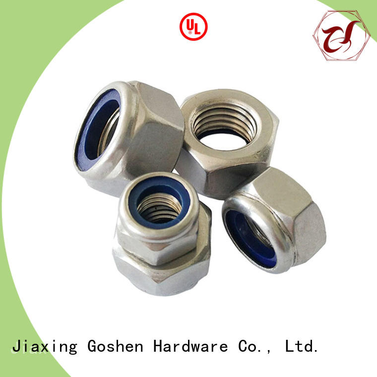 Goshen nylon nut in china for engineering