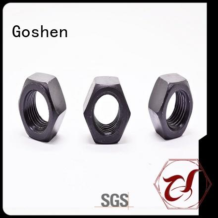 Goshen thin hex nuts price for engineering